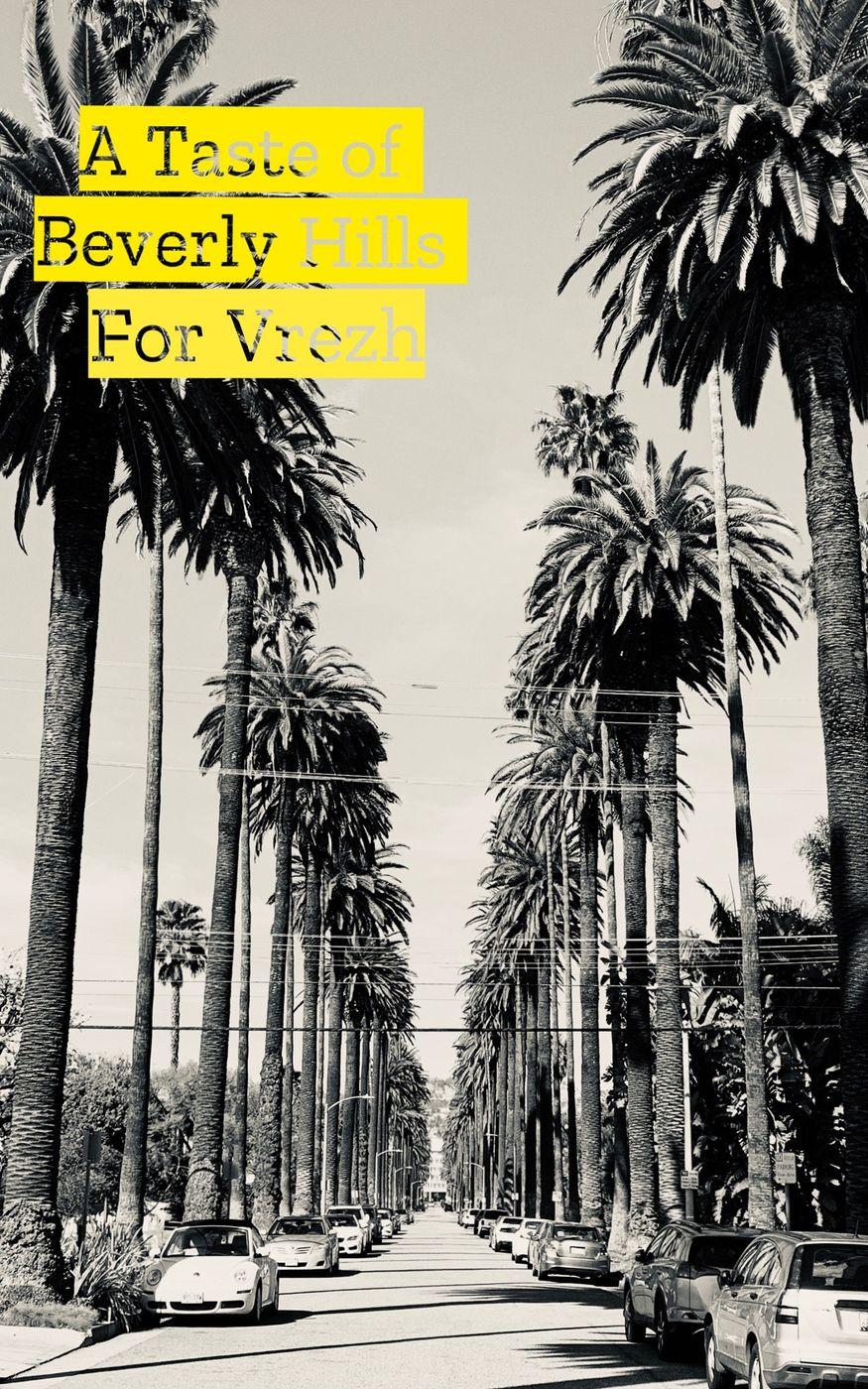 A taste of Beverly Hills for Vrezh Gulyan ✨