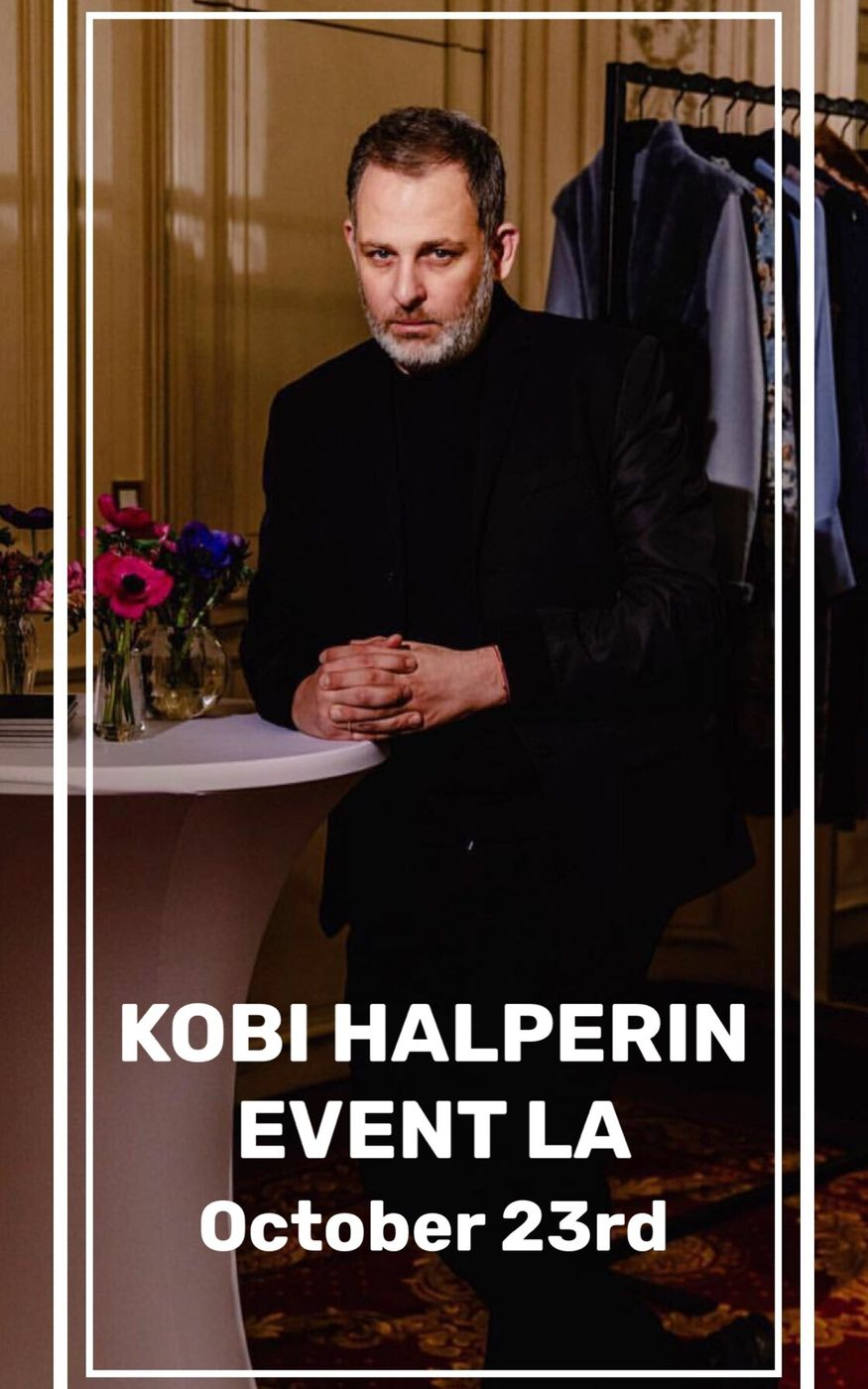 Kobi Halperin event Moodboard