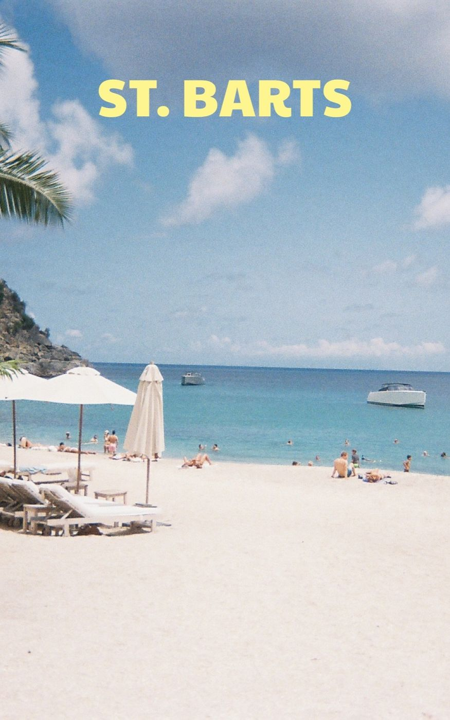 My Time in St. Barts
