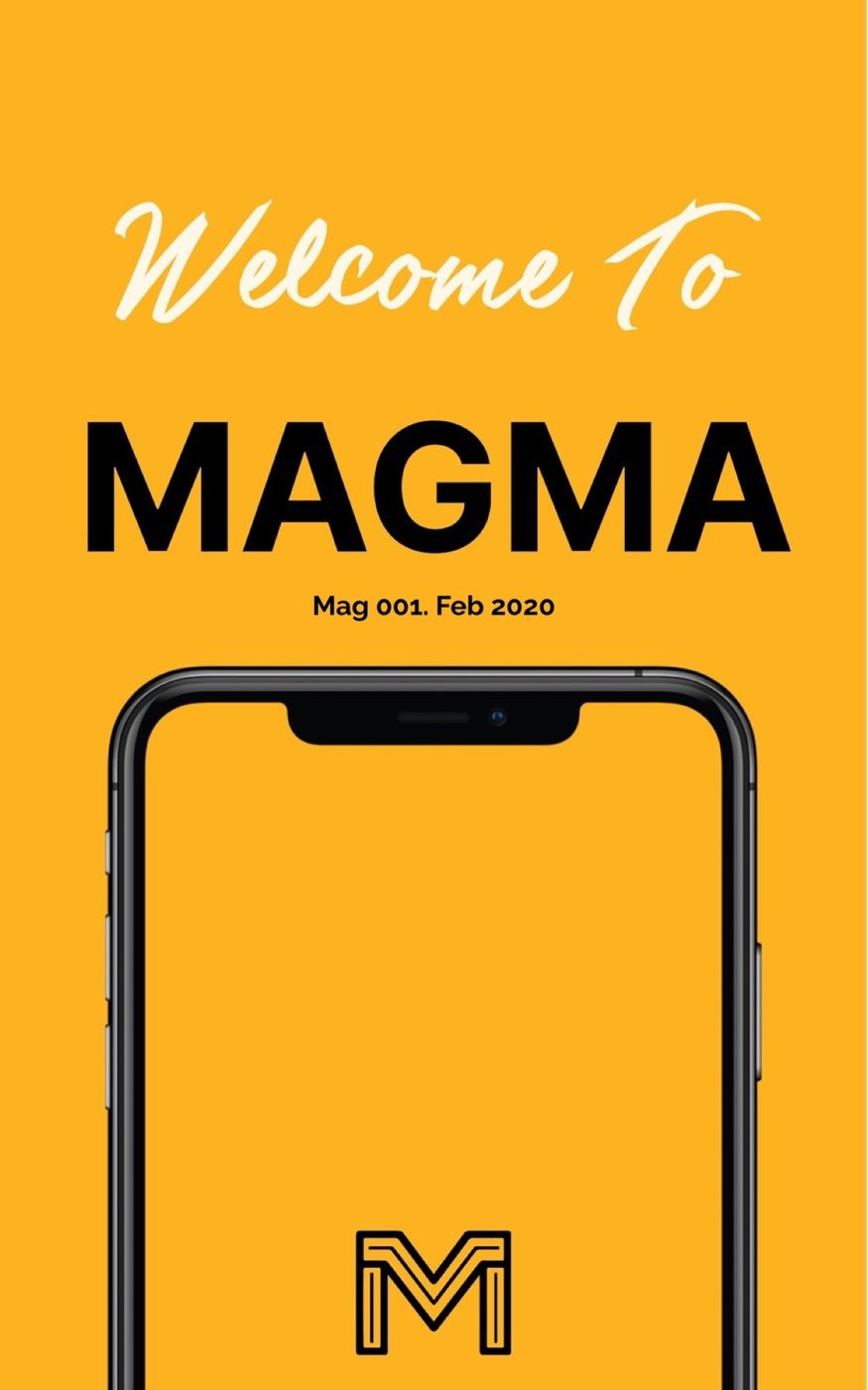 Welcome to Magma! A place to create your own digital Magazines.   This account will be the hub for all things Magma, including  - Tips & Tricks - Updates - Inspiration - News  And Much More!  SUBSCRIBE TO STAY UP TO DATE!