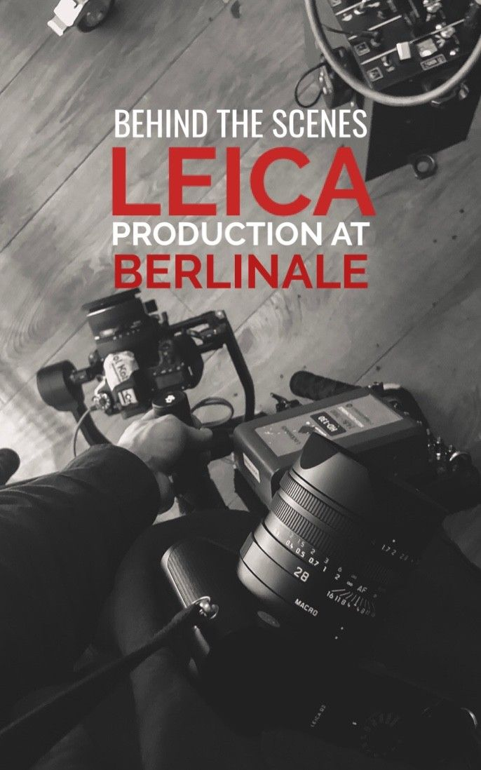Behind the scene snippets from the perspective of a videographer covering the Lecia hosted pop-up studio at Berlinale Film Festival.   Full video courtesy of Leica Cameras coming soon.