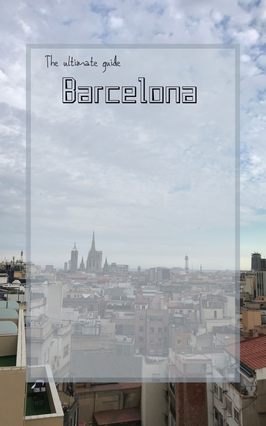 Swipe through t see the Ultimate Guide to Barcelona🇪🇸