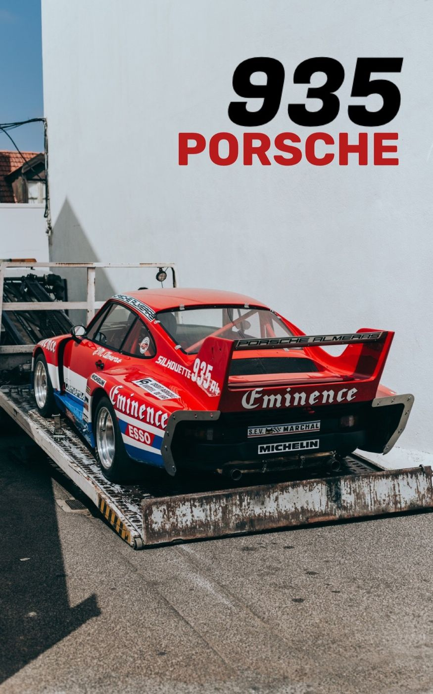 The homecoming of the Porsche935 🏎  We where lucky enough to shoot this legendary car on his way back into the garage. Breathtaking experience  📍 Sportclasse, Lisbon  Photos: Rosanne Steeneken Production: @parkerschmidt