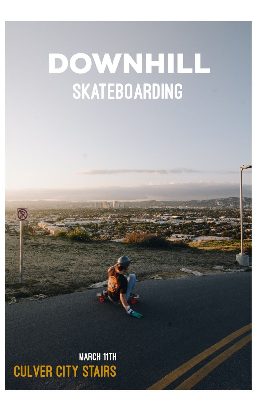 The world of downhills skateboarding in Los Angeles.