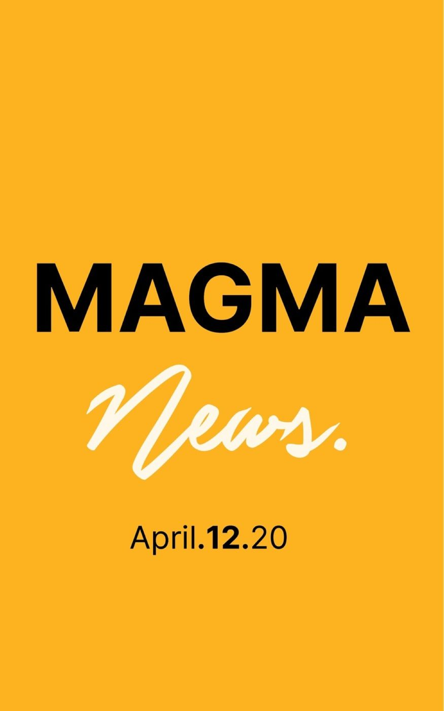 Magma News April 12, 2020  -The Strangest Easter. -How Covid-19 affects those who are pregnant. -What will happen to America's Housing Market? -How Truthful has China Been? -What happens with NFL draft if there's no season? -The NBA Adapts. -Is Jeff Bezos trying to buy the US Postal Service? -SNL during quarantine is pure gold. -Apple & Google Unite.
