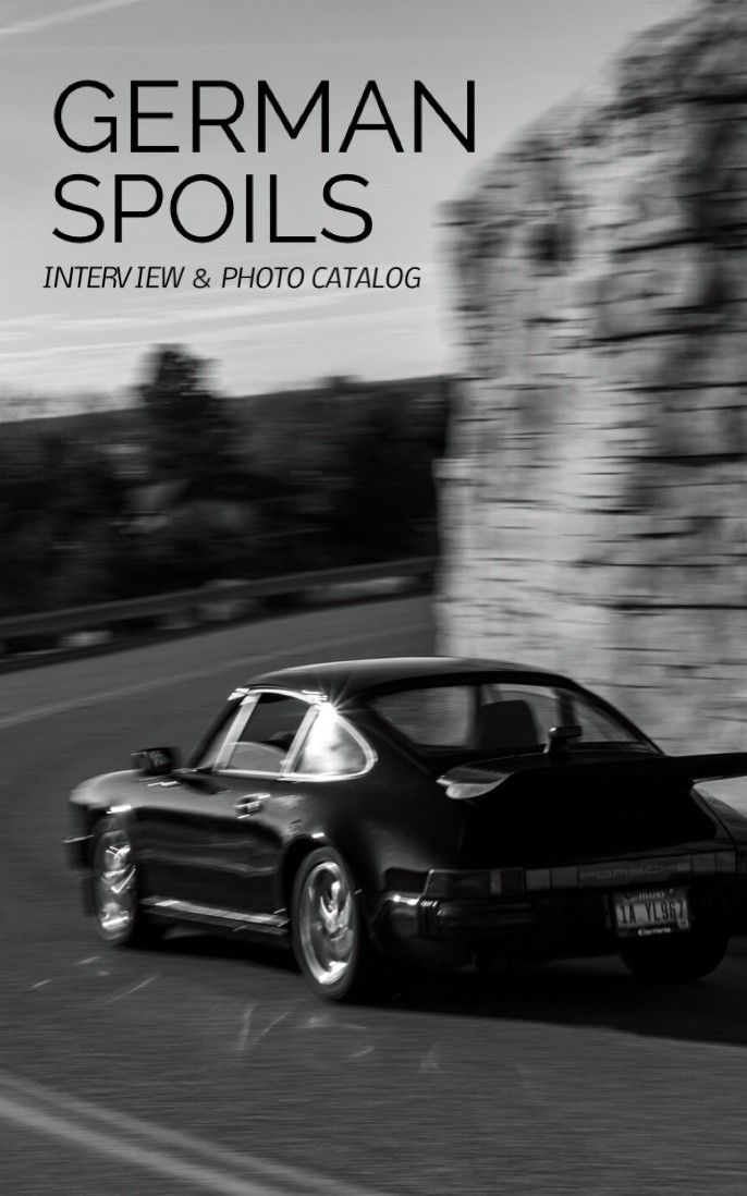 This past winter I had the opportunity to sit down with North West Porsche enthusiast, Nathan Rowland. Being stationed on a US Army base in Germany, Rowland had the chance to drive his beloved 911 Carrera among the countries endless pinning countryside and broadside highways.  Discover more about Nathan's story and how he was able to cling on to his go-to vehicle even after returning to the states.