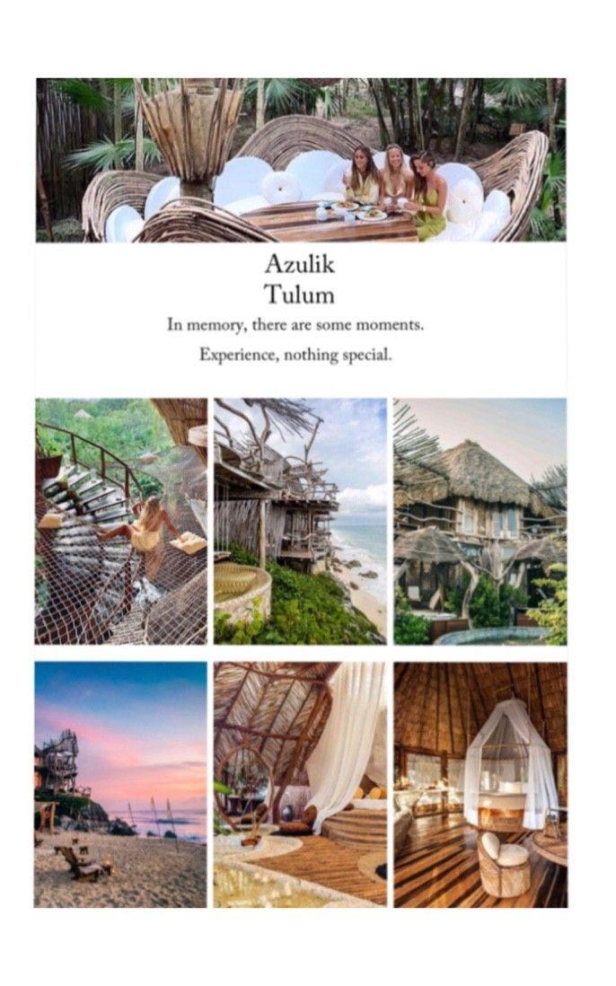 Beautiful hotel in Tulum ! Experience