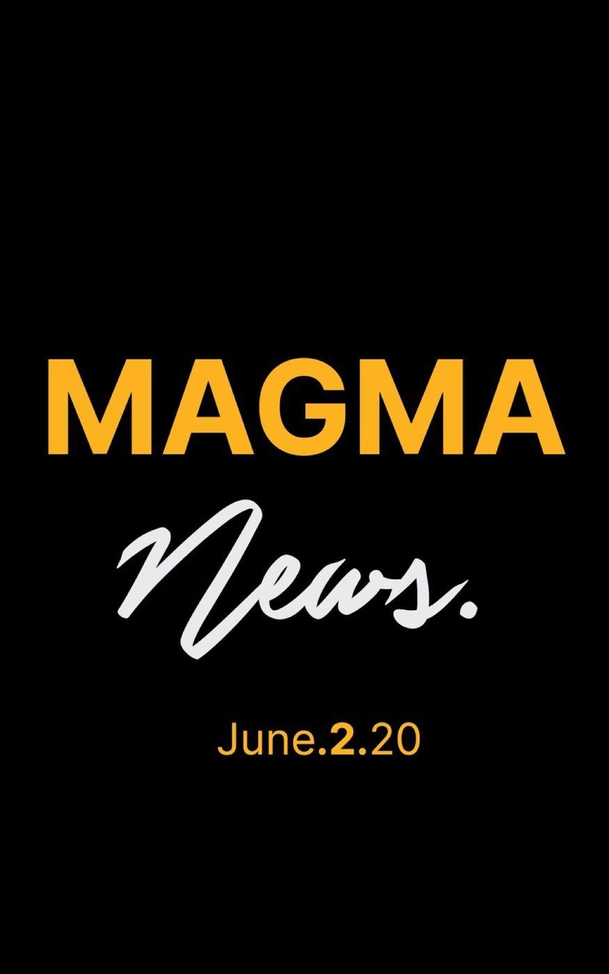 Magma News  June 2, 2020
