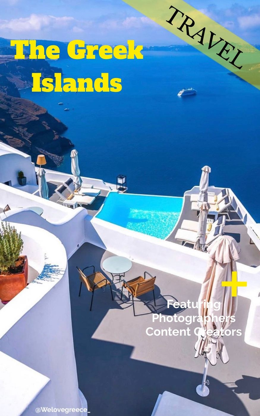 Featuring content creators as photographers | Greek Islands 😎