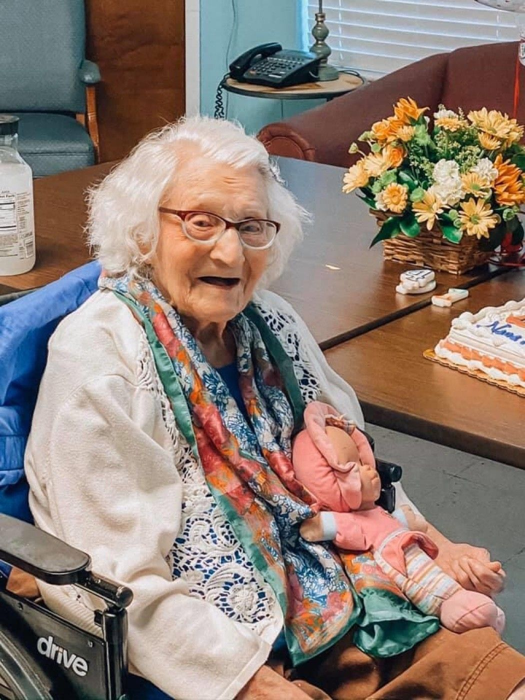 104 year-old Florence recovers from COVID19 according to family