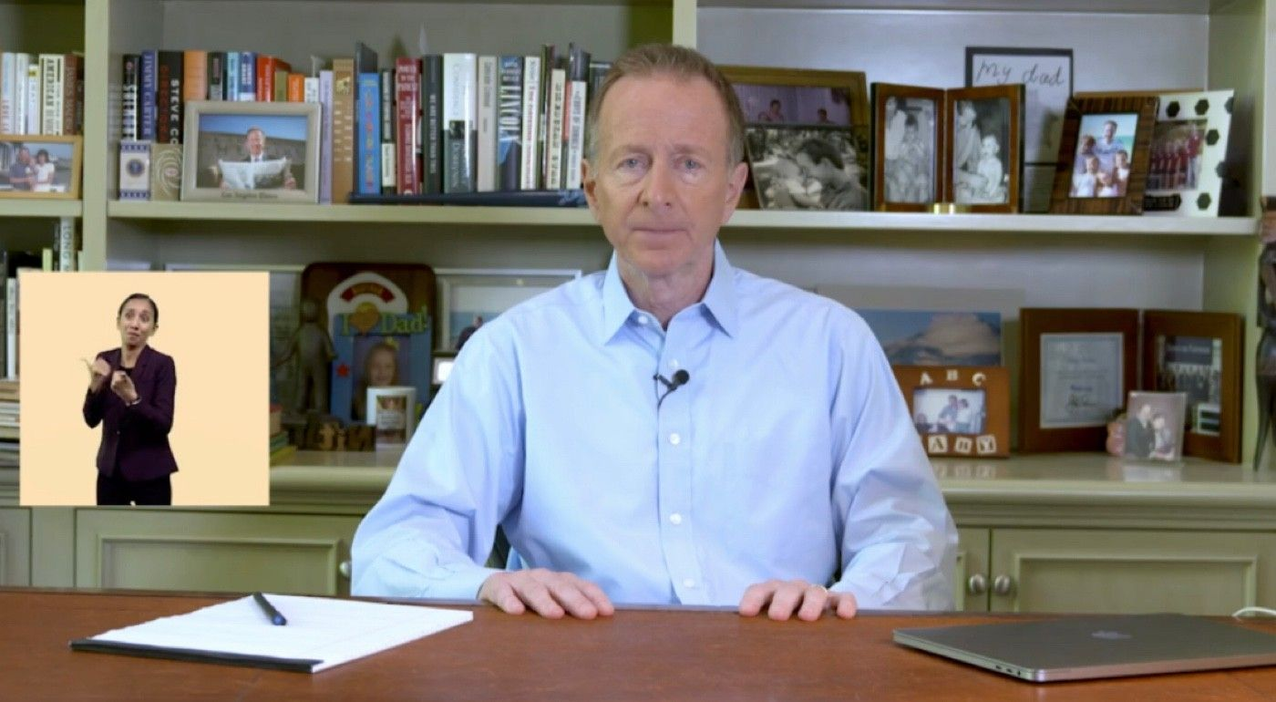 LAUSD Superintendent Austin Beutner (Image from video)