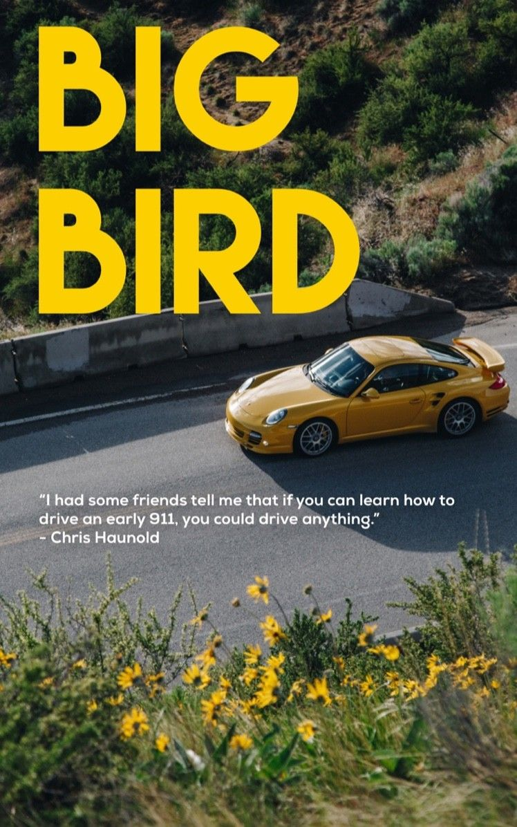 You don't always have to keep up with the times. Chris Haunold, for example, bought an 911Turbo just at the time when everyone was (for a good reason) raving about the PDK. A ride - and a conversation about how Chris came to Porsche.