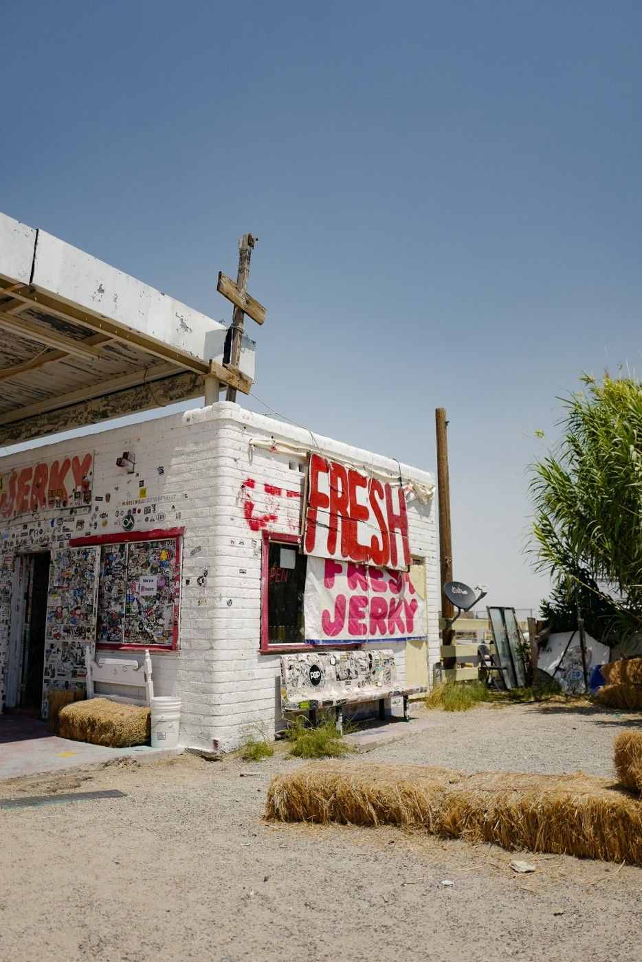 Road trip Rule #1. If the jerky place looks sketchy, the jerky is going to be amazing.
