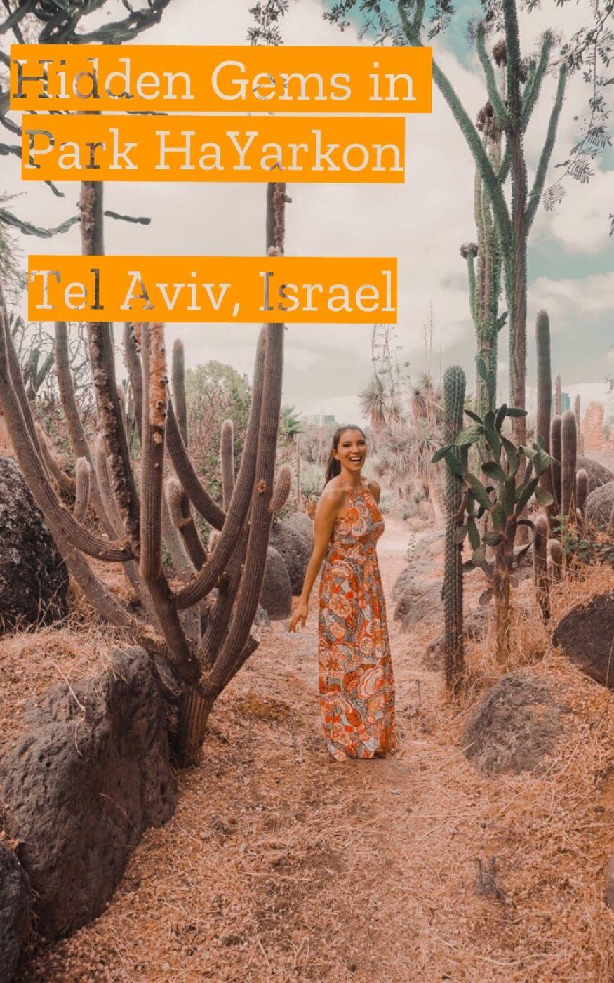 Hidden Gems of Park HaYarkon, Tel Aviv Israel
