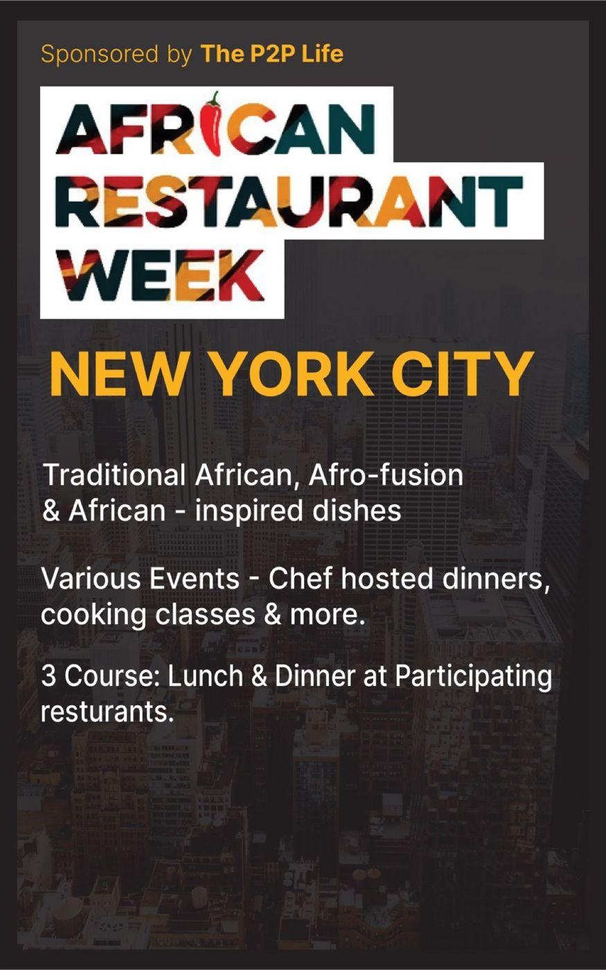 New York African Restaurant Week