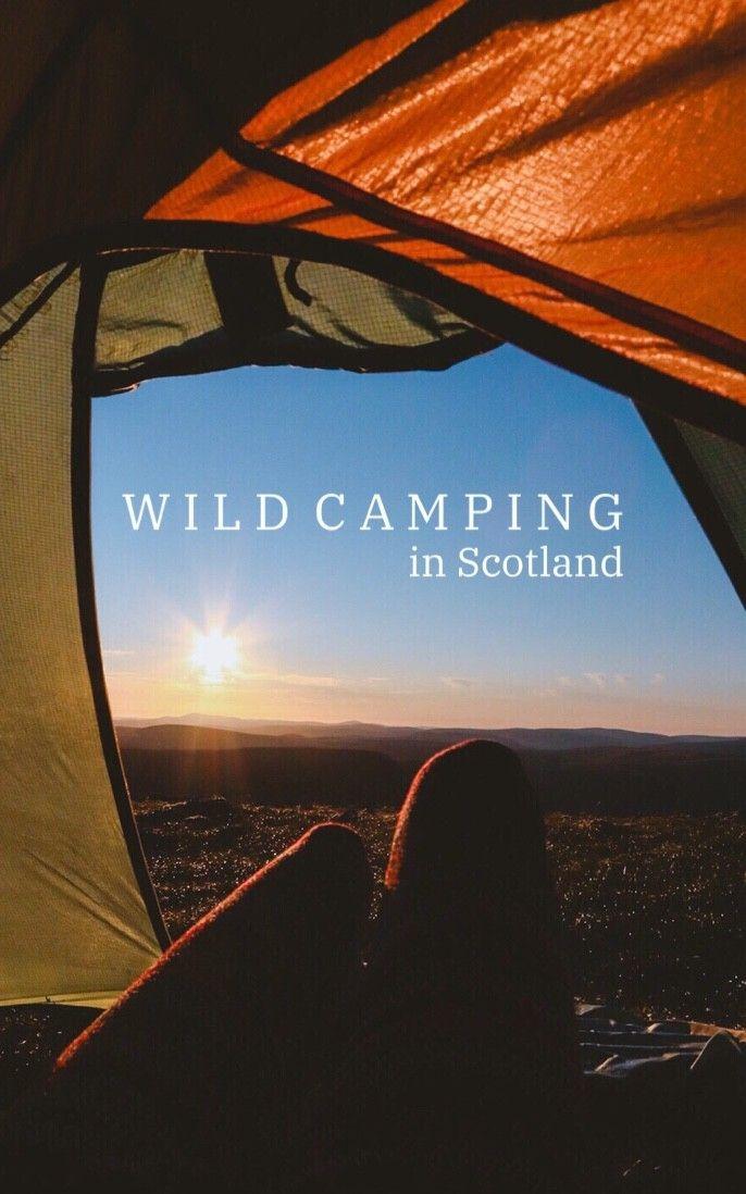 Wild Camping on Glas Maol, Scotland