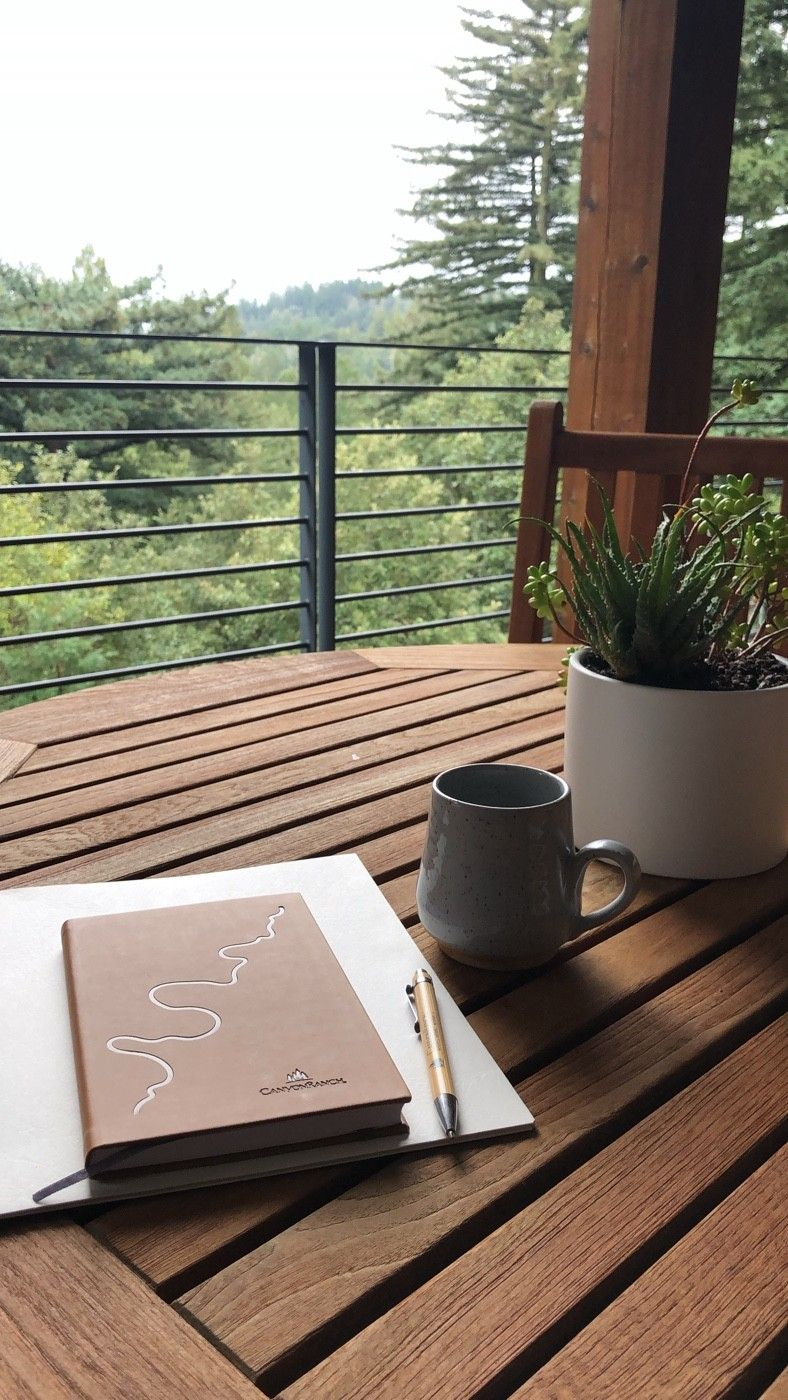 Journal to Release, Create and Ponder.