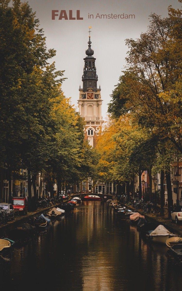 Fall season in Amsterdam
