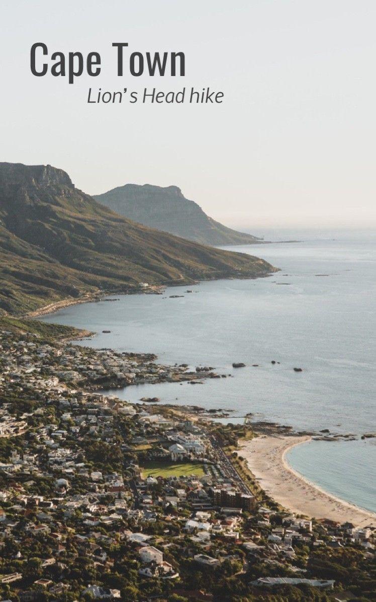 Cape Town - Lion's Head hiking views ☀️