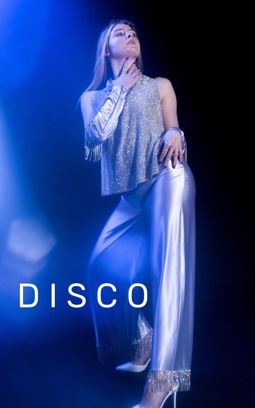 Fashion designer/AD: Sean Patrick Photographer/MUA: Rachel Zuckerberg Models: Heather Davies and Sarah Steed