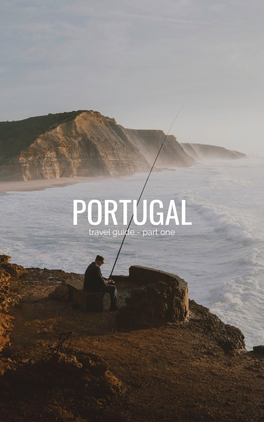 This is the first part of my Portugal Travel guide. It covers the area around Lisbon, mostly the spots on the coast of Sintra - Ericeira.