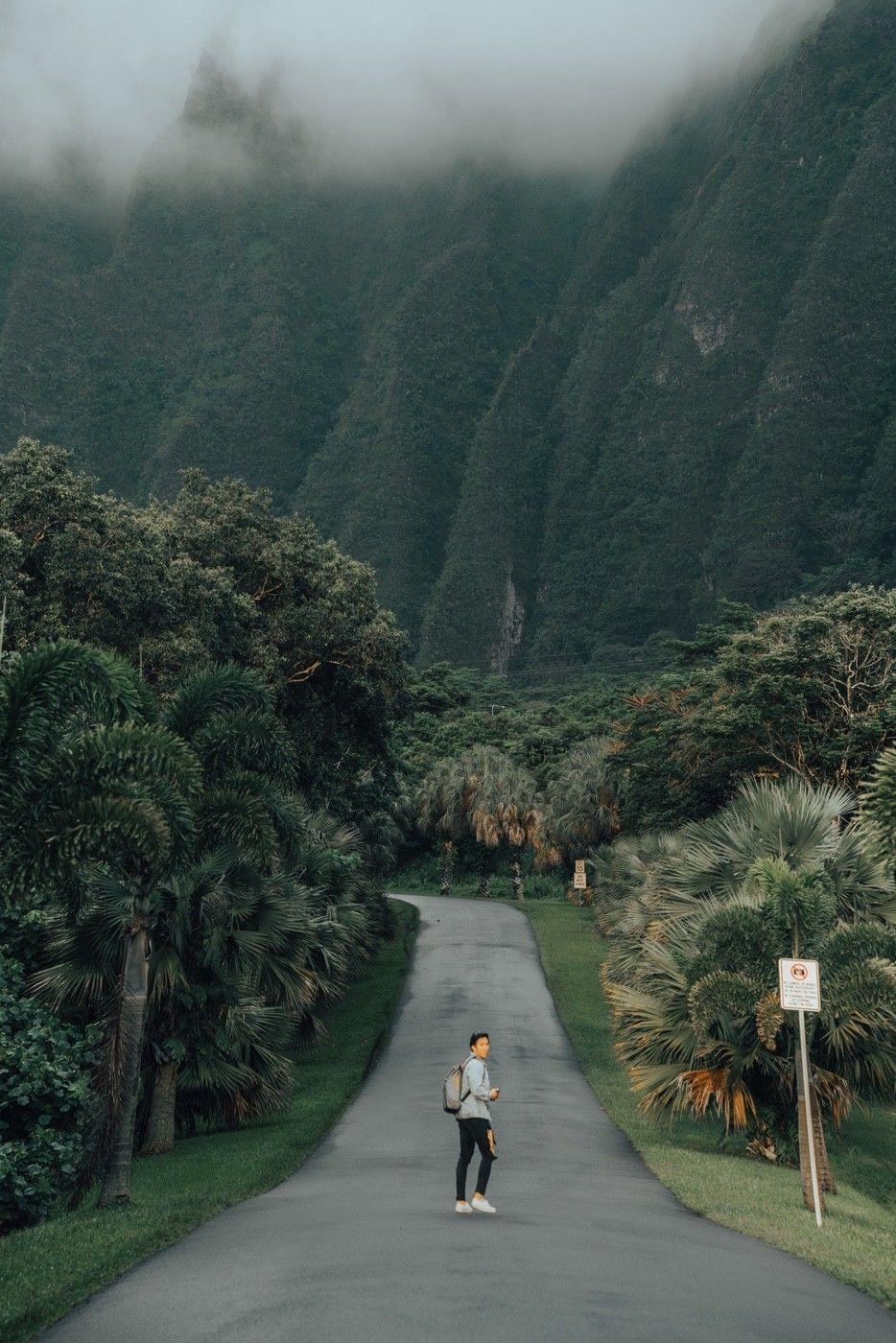 Ho'o Maluhia , Botanical Garden