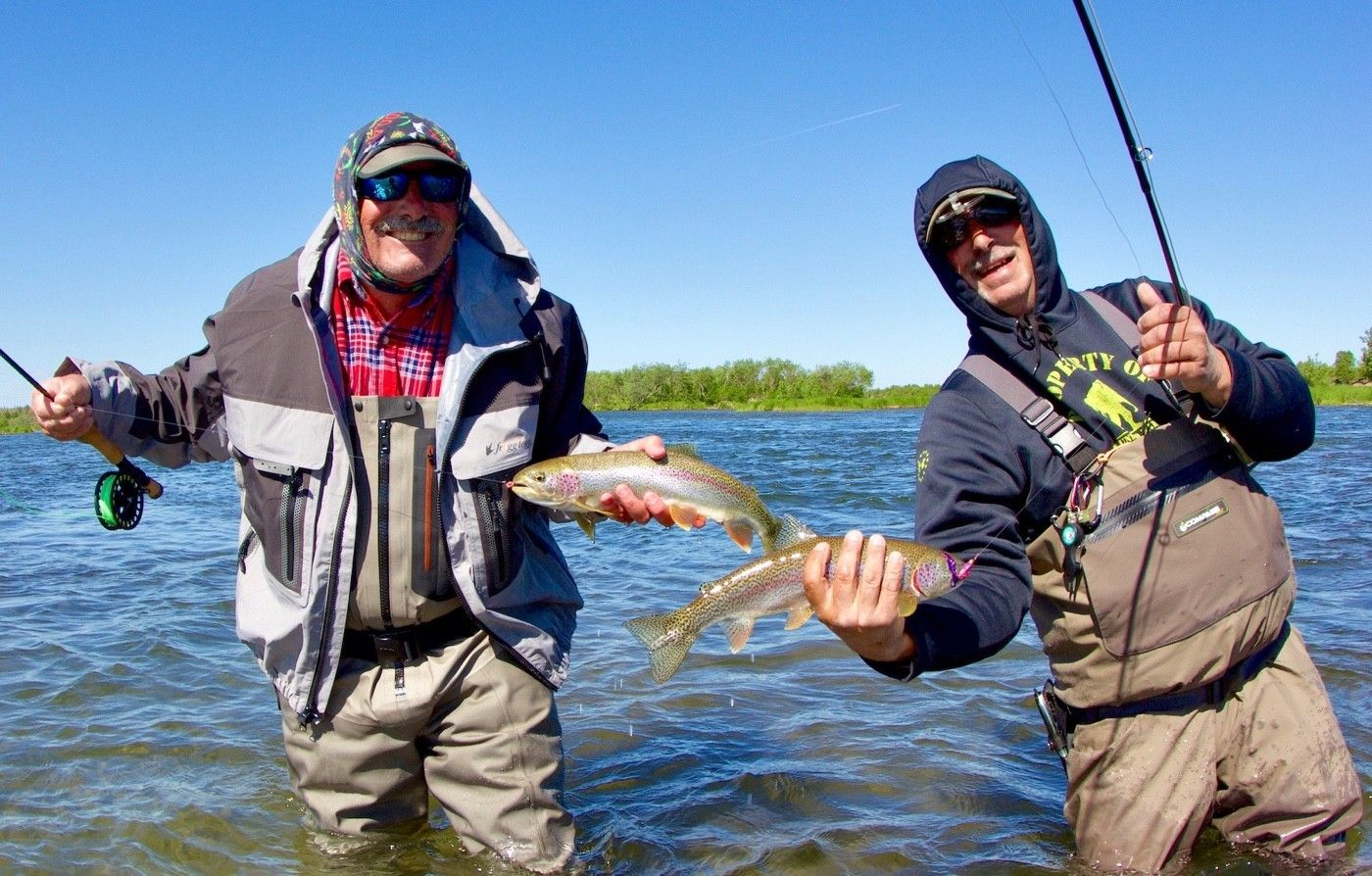 Trout fishing can be stupid good.