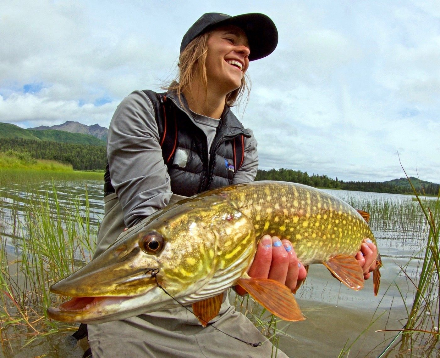 You might fish for pike!