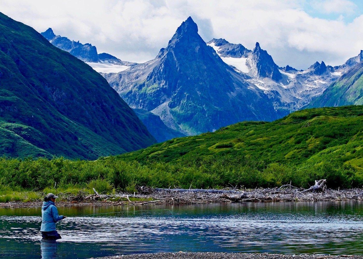 You'll fish in splendor.