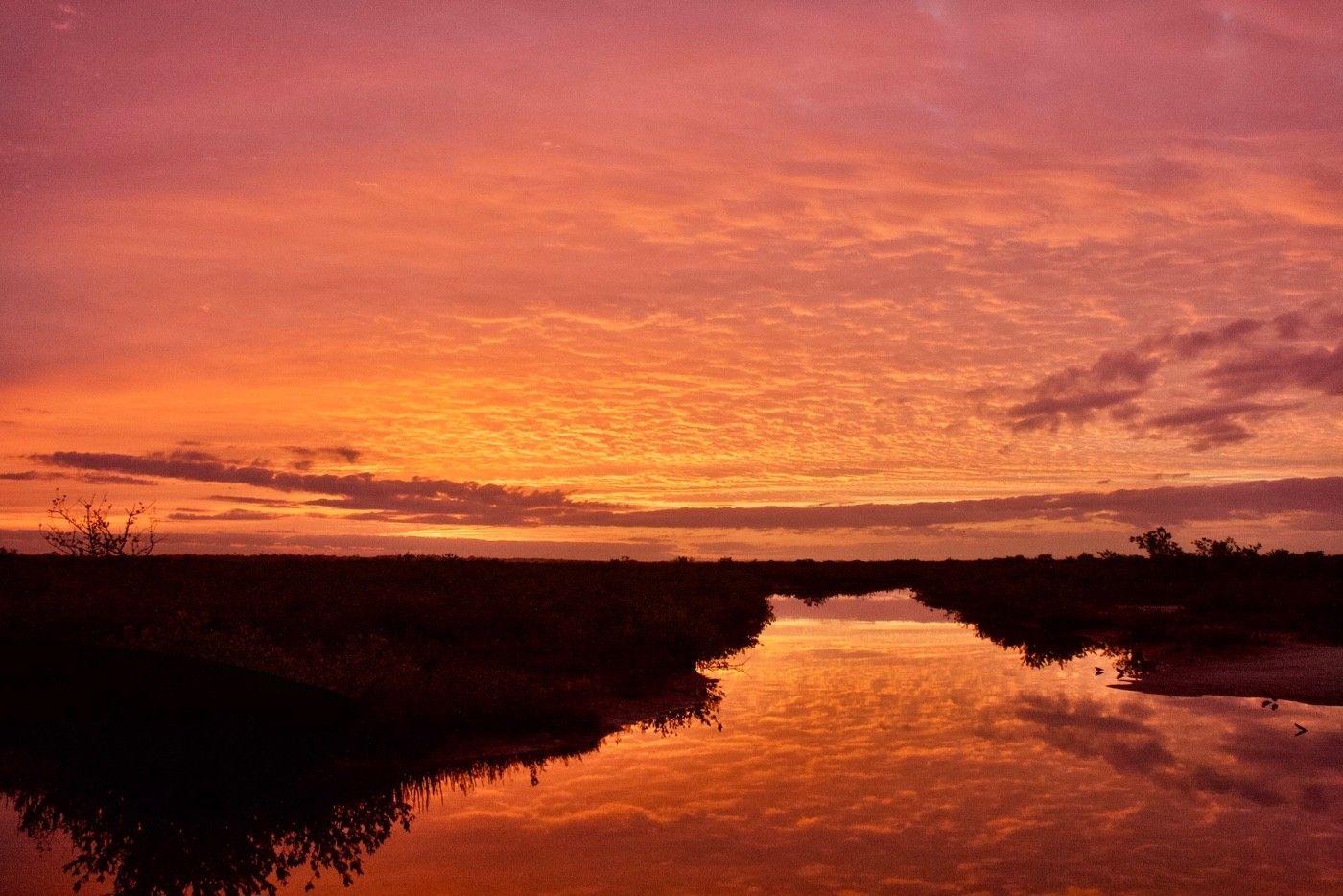 Sun rise, Mosquito Lagoon.