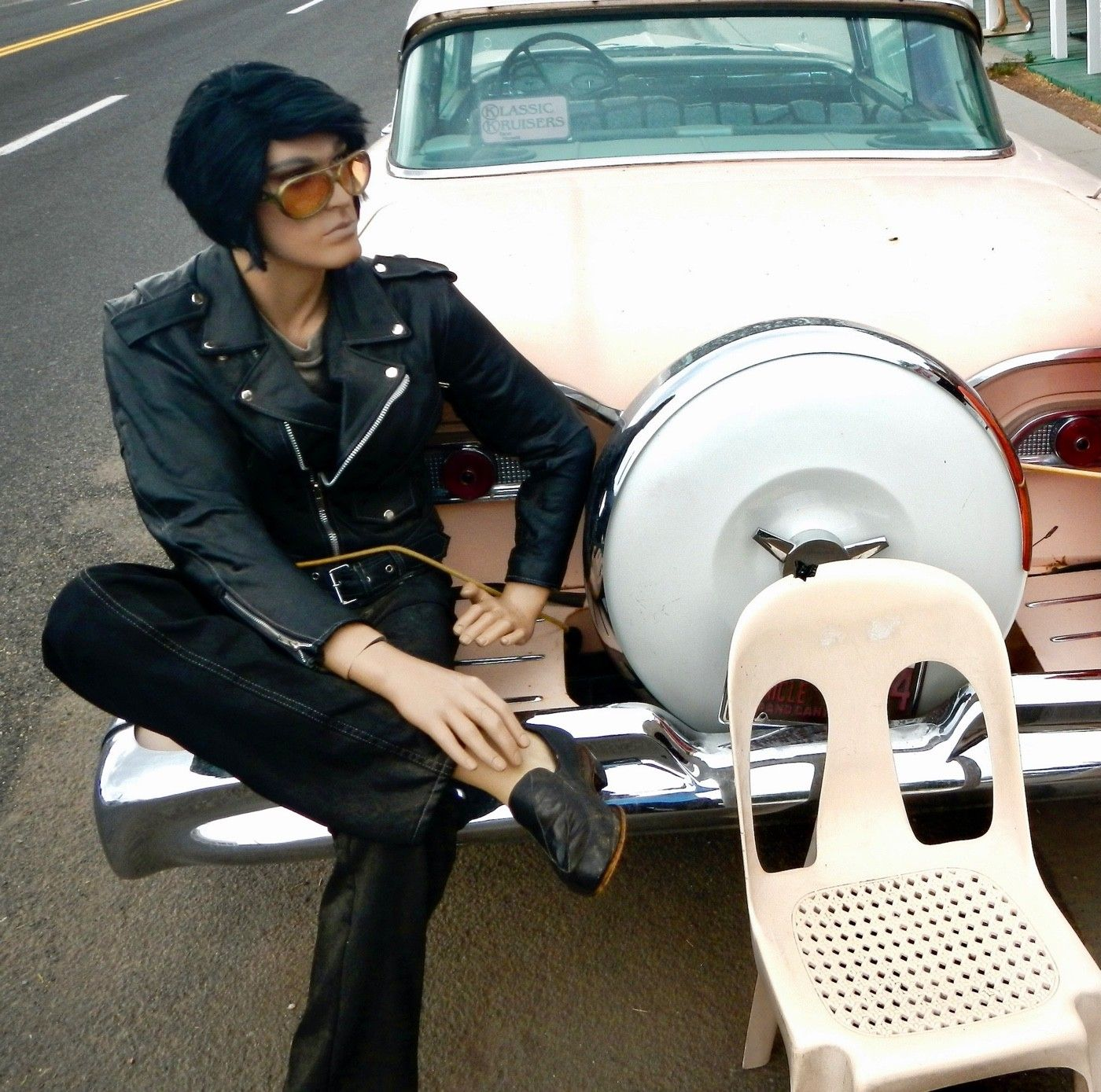 Maybe you'll see Elvis. With his Edsel.