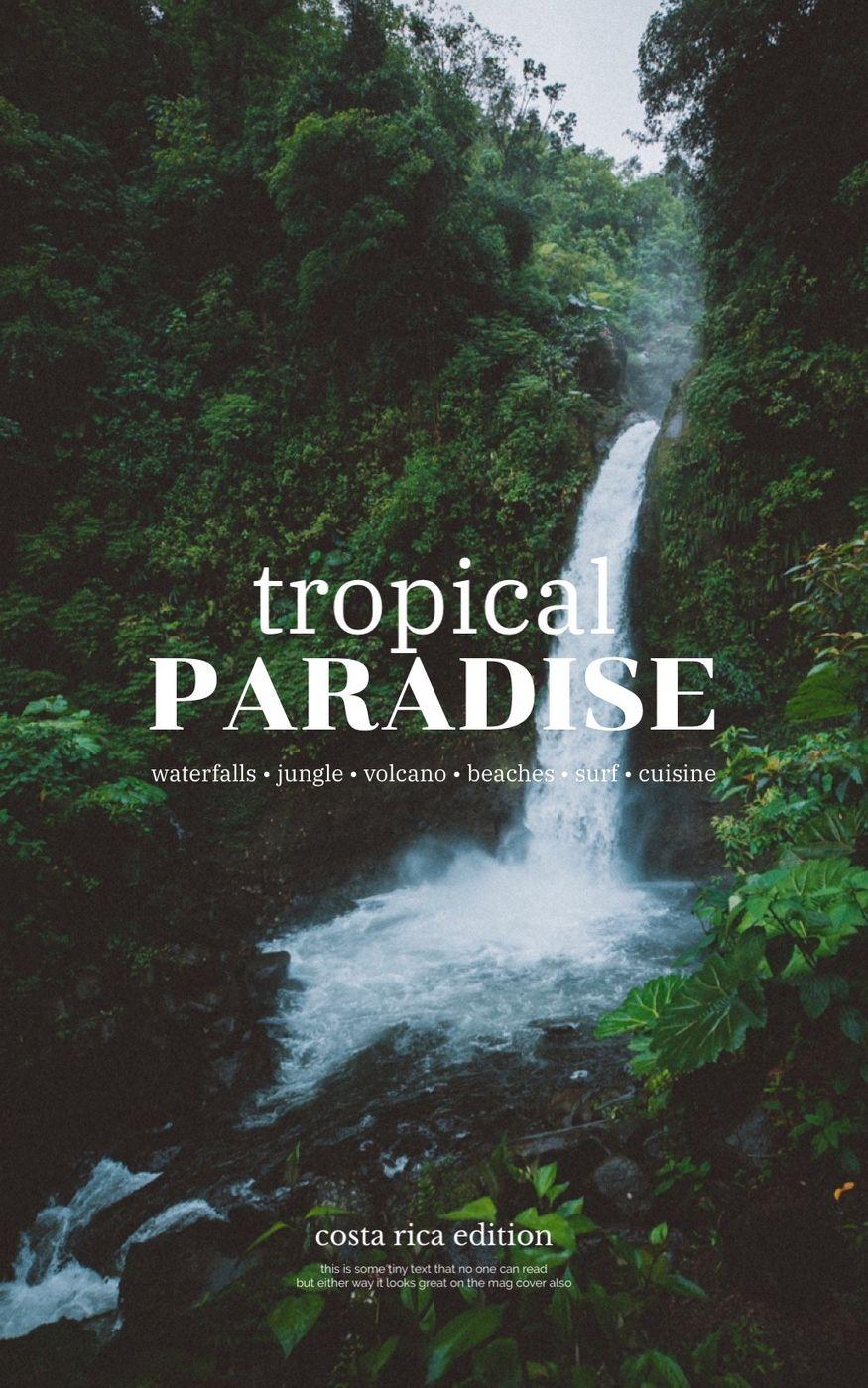 Costa Rica adventure ✨