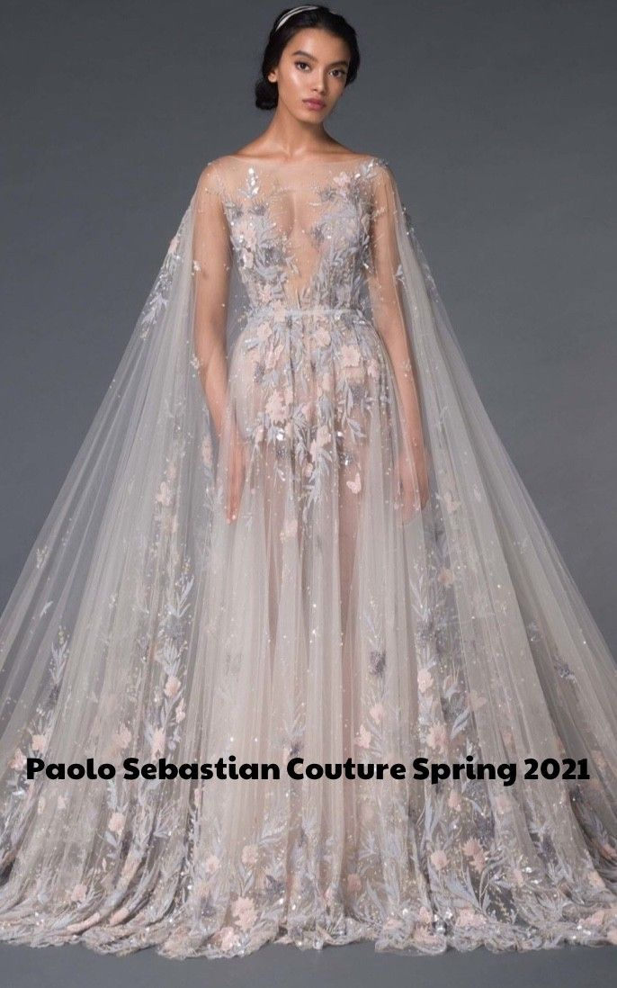 Take a look at the Paolo Sebastian Couture Spring 2021 Collection: PERSEPHONE