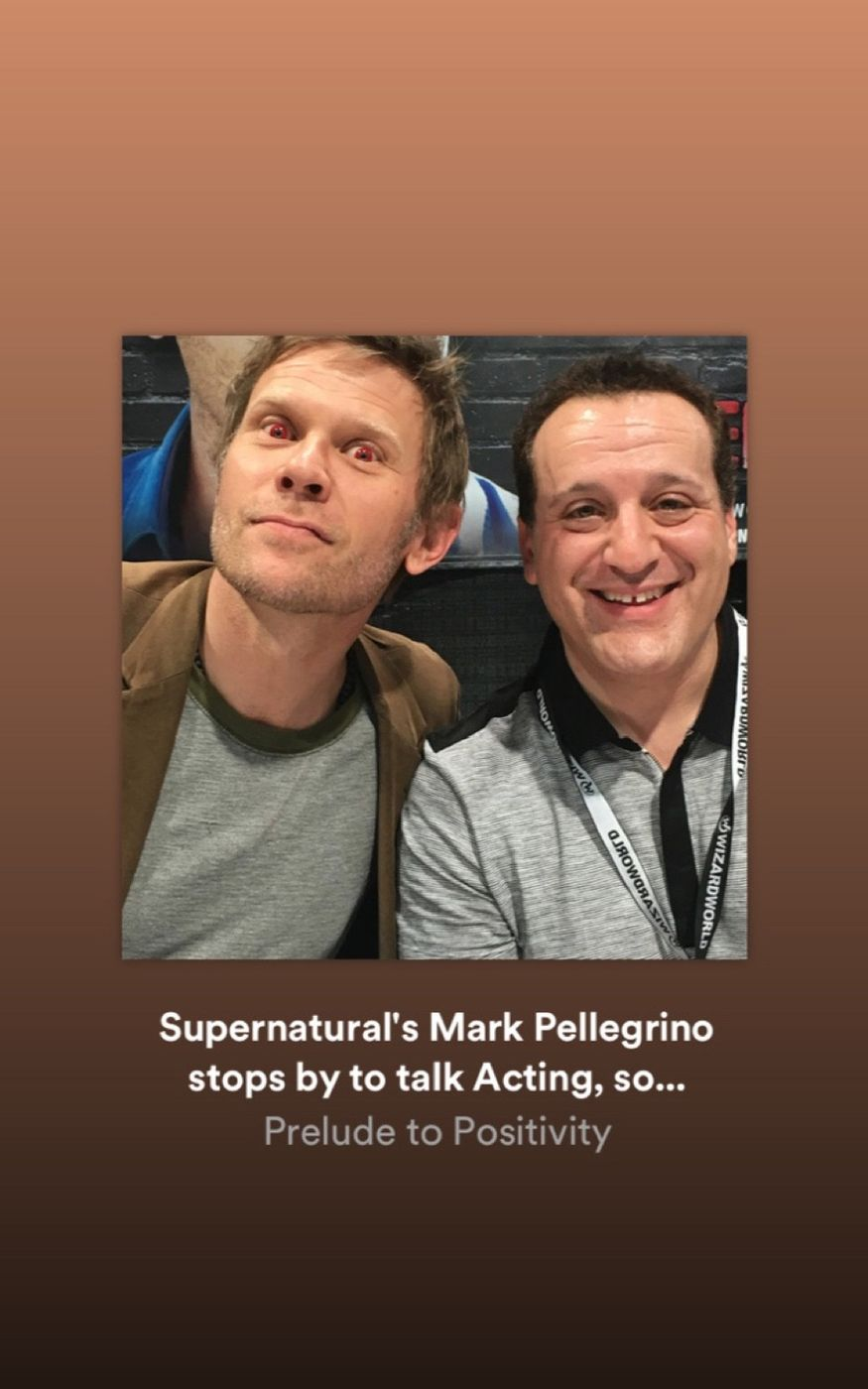 Prelude to Positivity interview with Supernatural's Mark Pellegrino