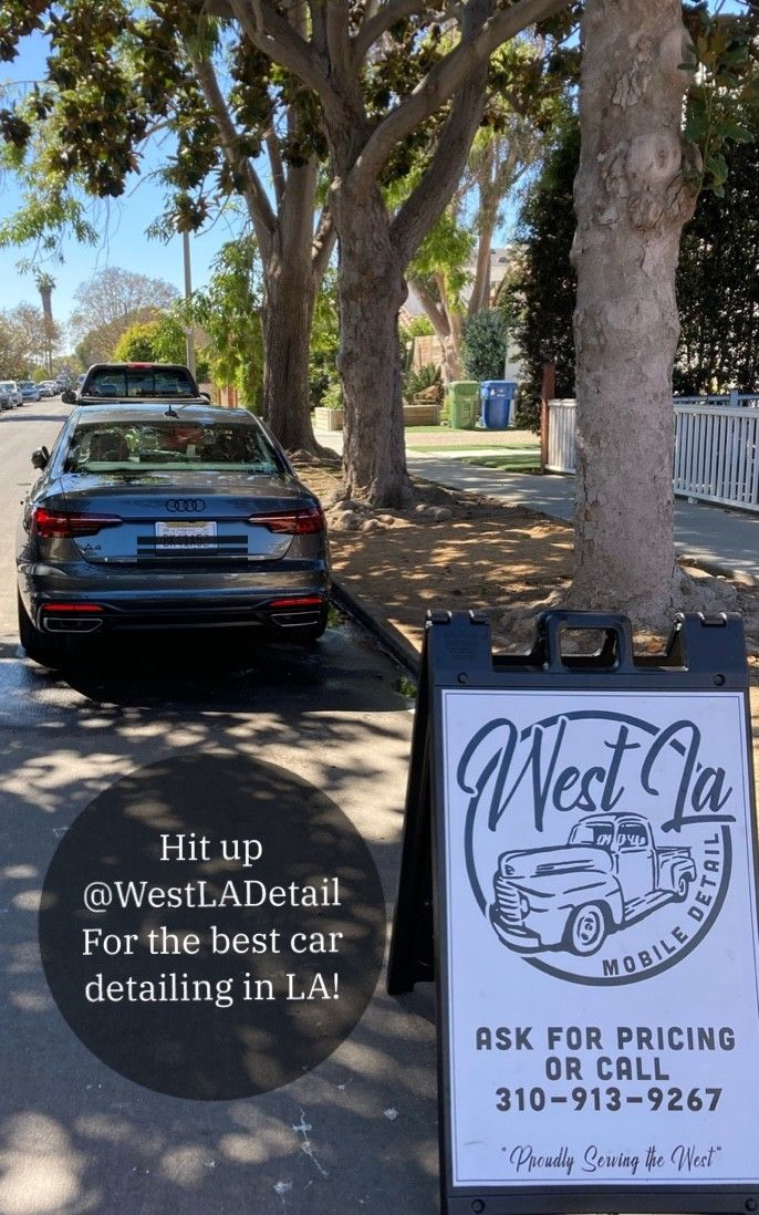 @WestLAdetail is the best mobile car detailing service in Los Angeles.