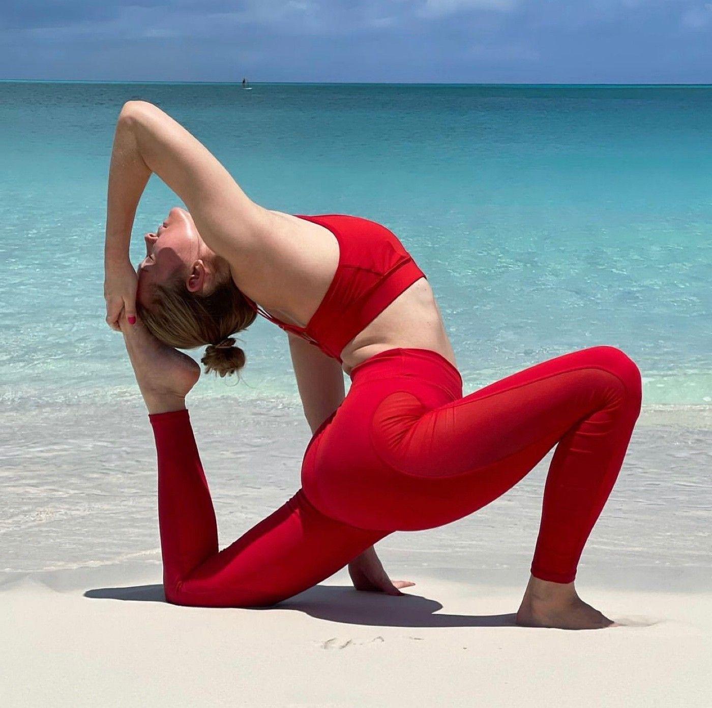 Nothing like yoga…