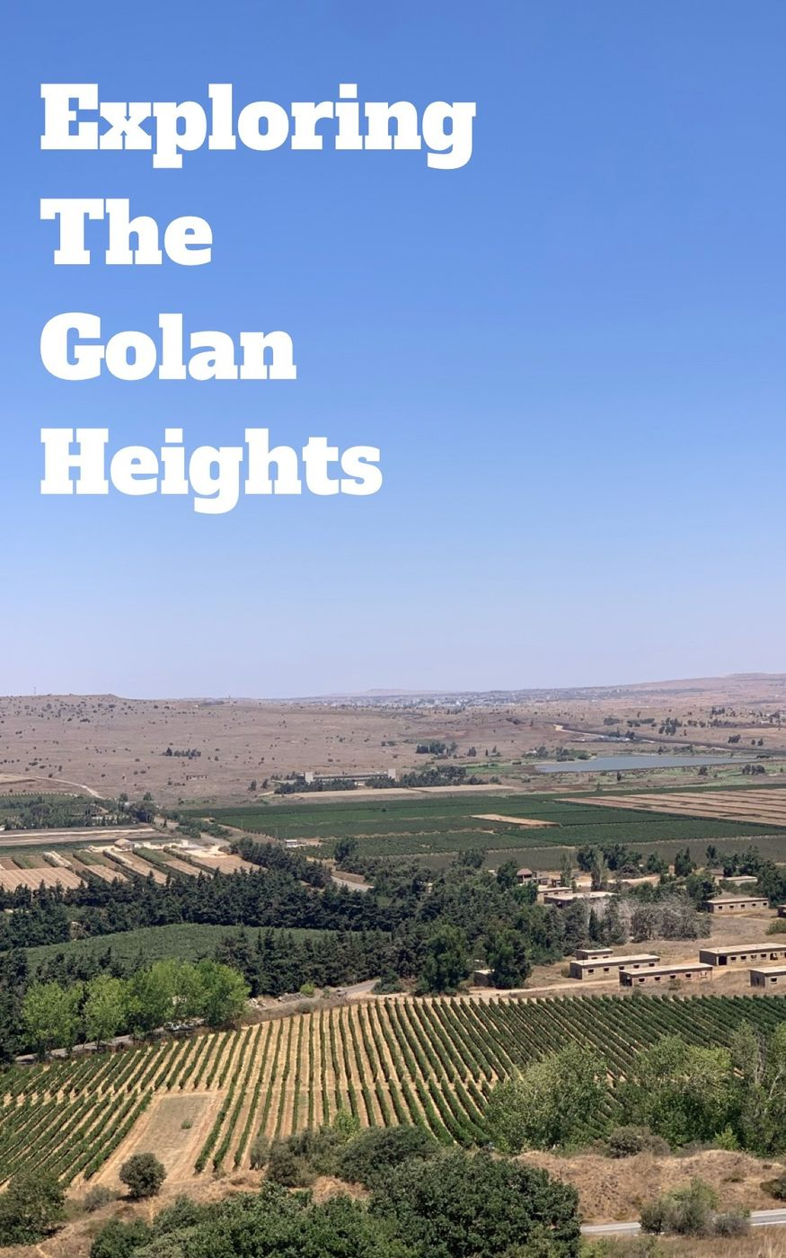 Exploring the Golan Heights